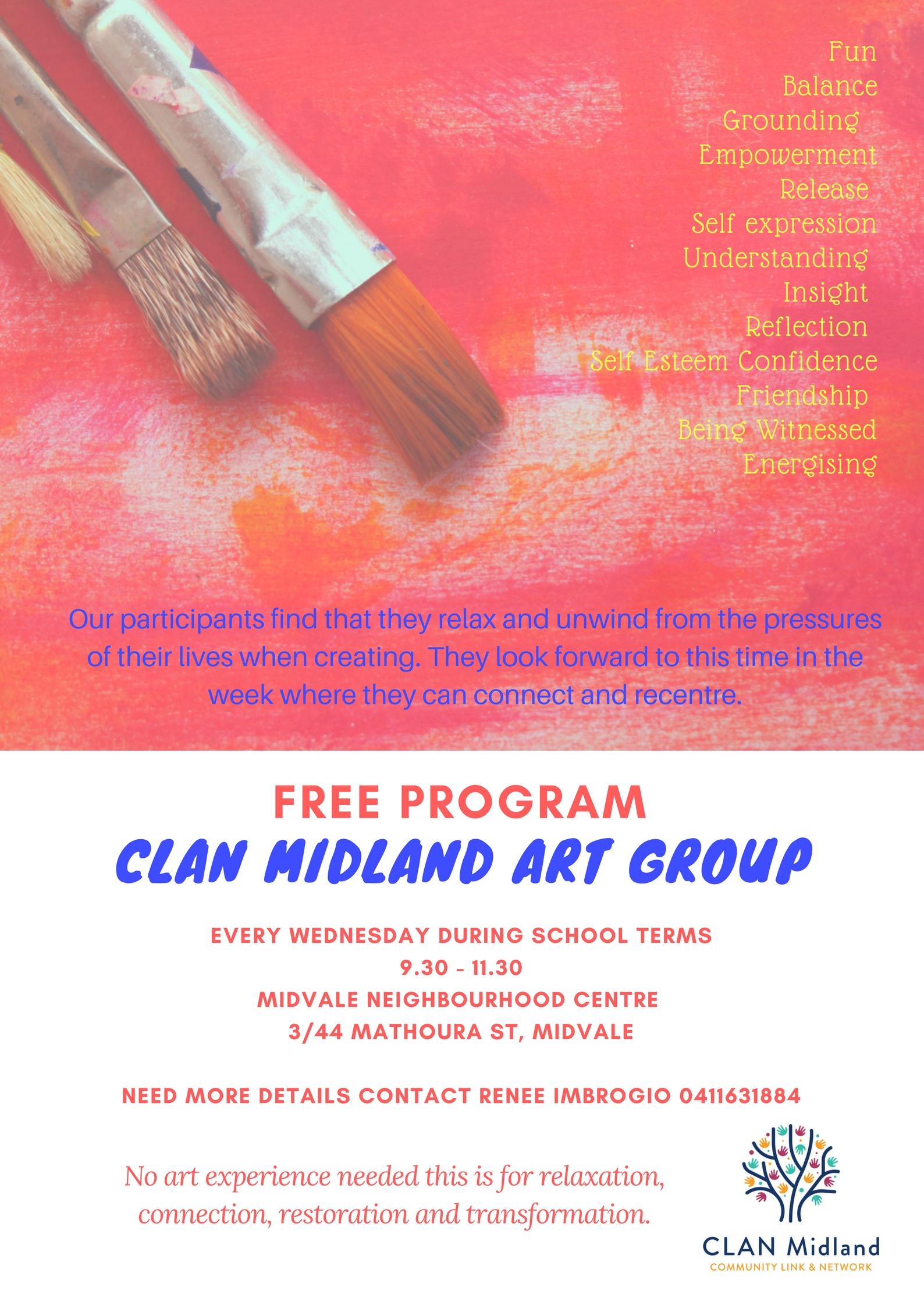 art group clan midland